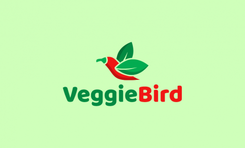 Veggiebird - Healthcare startup name for sale