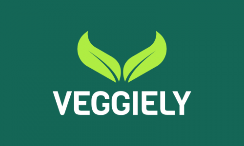 Veggiely - Dining domain name for sale