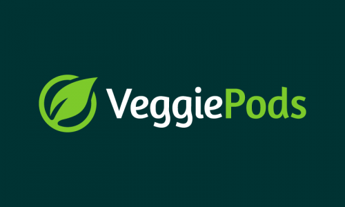 Veggiepods - E-commerce startup name for sale