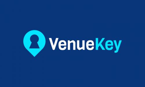 Venuekey - Conferences startup name for sale