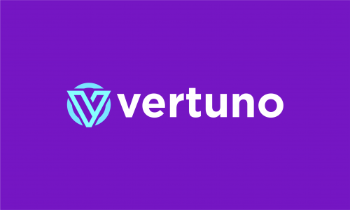Vertuno - Design business name for sale