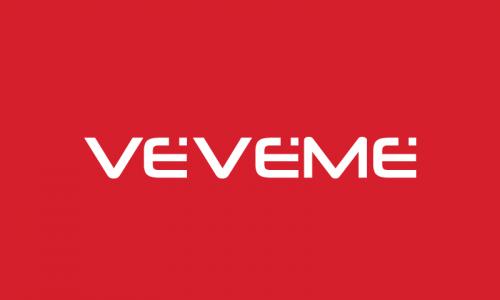 Veveme - Contemporary domain name for sale