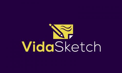 Vidasketch - Art company name for sale