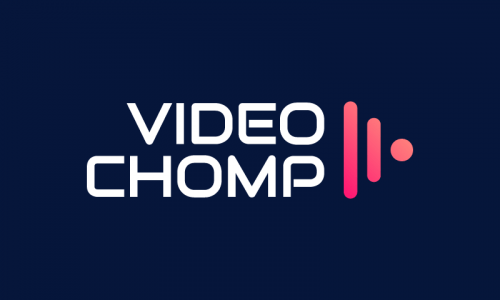 Videochomp - Video domain name for sale