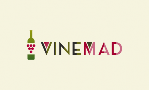 Vinemad - Alcohol startup name for sale