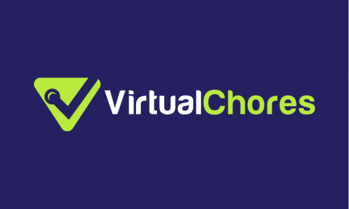 Virtualchores - Remote working startup name for sale