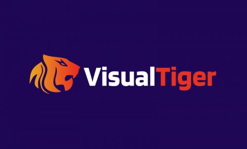 Visualtiger - Media domain name for sale