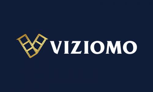 Viziomo - Media domain name for sale