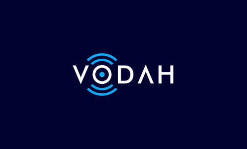 Vodah - Technology startup name for sale