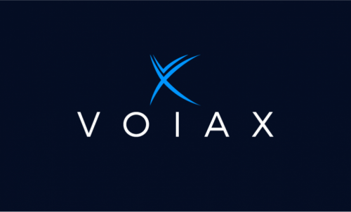 Voiax - Modern startup name for sale