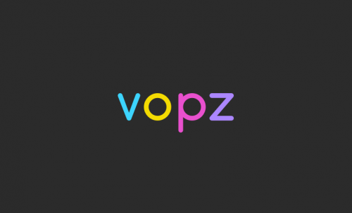 Vopz - Technology startup name for sale
