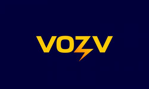 Vozv - Business startup name for sale