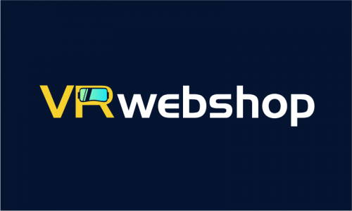 Vrwebshop - E-commerce company name for sale