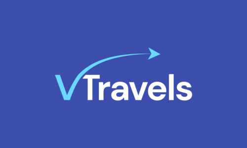 Vtravels - Travel domain name for sale