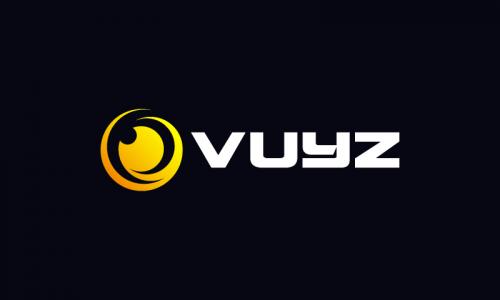 Vuyz - Contemporary business name for sale