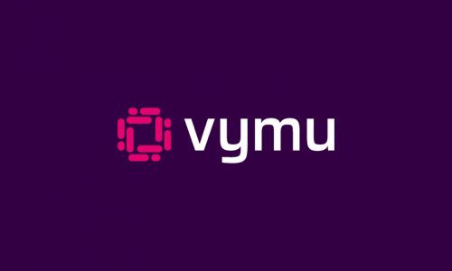Vymu - Contemporary business name for sale