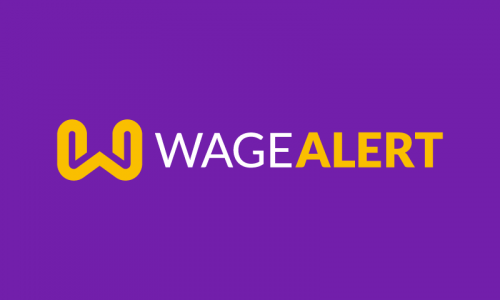Wagealert - Cryptocurrency startup name for sale