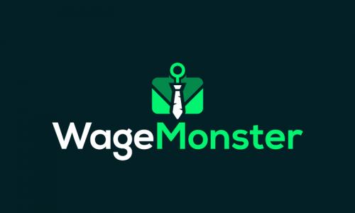 Wagemonster - Recruitment brand name for sale