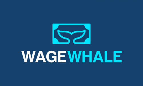 Wagewhale - Approachable business name for sale