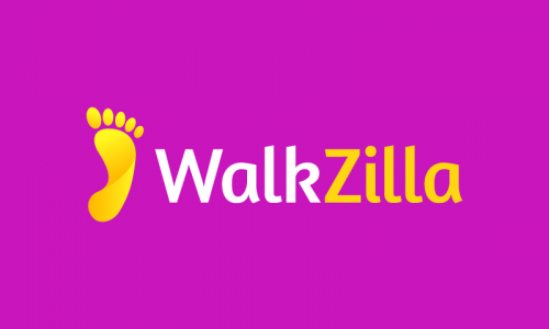 Walkzilla - Fitness business name for sale