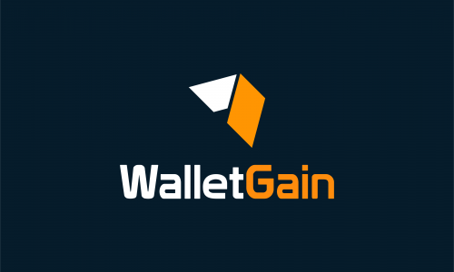 Walletgain - Cryptocurrency company name for sale
