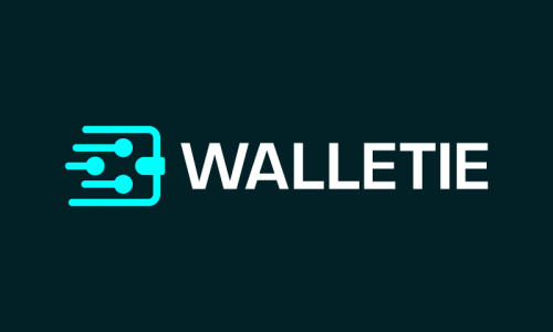 Walletie - Cryptocurrency startup name for sale