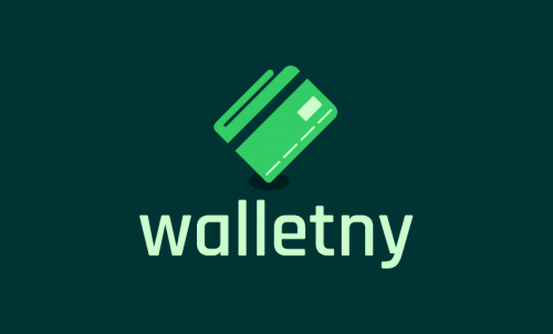 Walletny - Cryptocurrency company name for sale