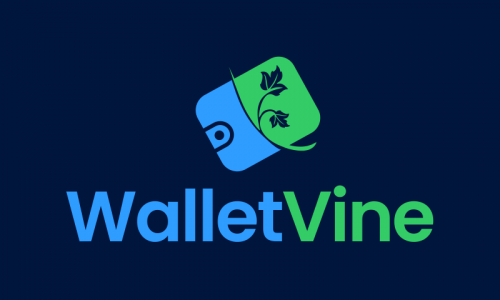 Walletvine - Cryptocurrency brand name for sale