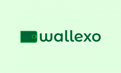 Wallexo - Cryptocurrency company name for sale