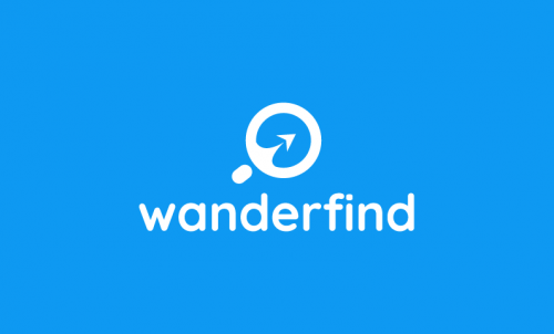 Wanderfind - Travel company name for sale