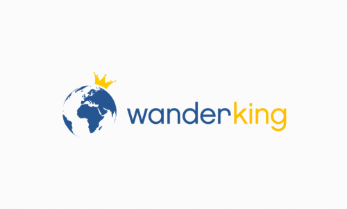 Wanderking - Internet company name for sale