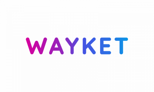 Wayket - Modern domain name for sale