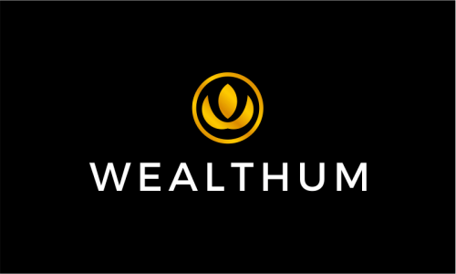 Wealthum - Finance domain name for sale