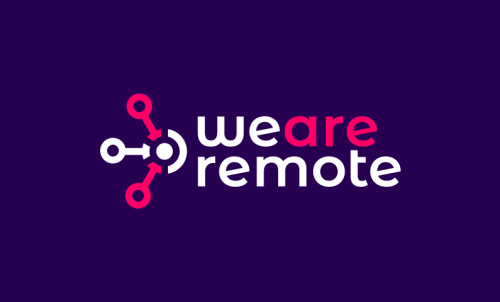 Weareremote - Remote working brand name for sale