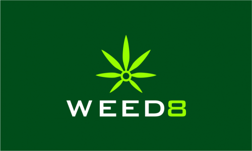 Weed8 - Cannabis brand name for sale