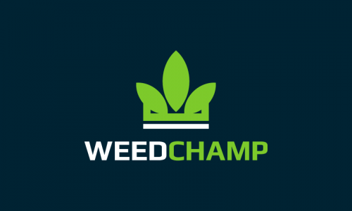 Weedchamp - Cannabis startup name for sale