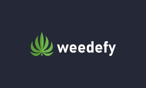 Weedefy - Cannabis brand name for sale