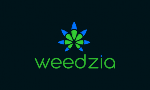 Weedzia - Cannabis domain name for sale