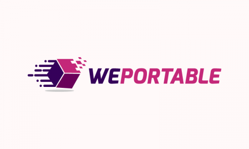 Weportable - Business startup name for sale
