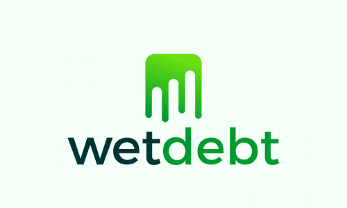 Wetdebt - Finance product name for sale