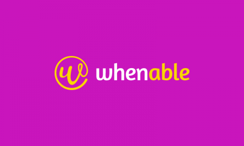 Whenable - Possible business name for sale