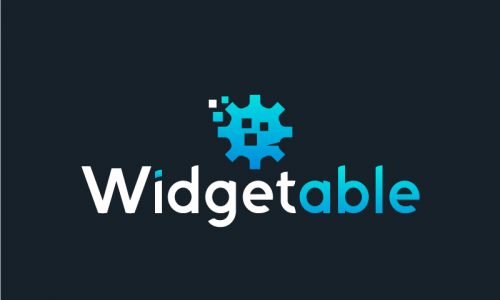 Widgetable - Technology business name for sale