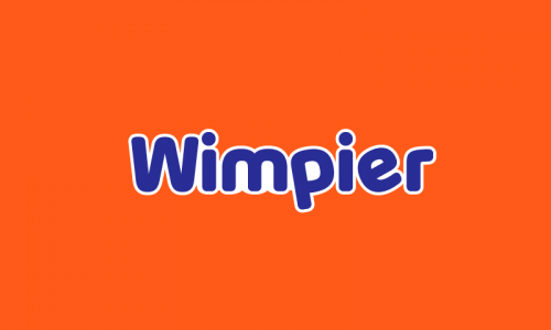 Wimpier - Retail domain name for sale