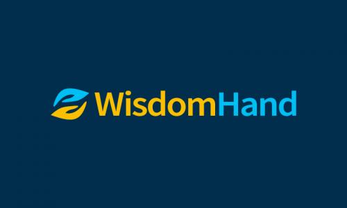 Wisdomhand - Technology company name for sale