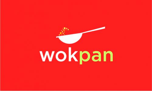 Wokpan - E-commerce company name for sale