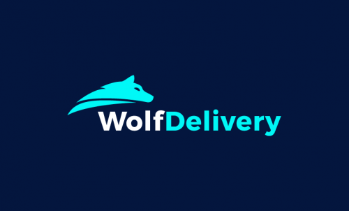 Wolfdelivery - Retail startup name for sale