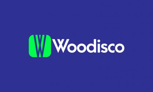 Woodisco - E-commerce company name for sale
