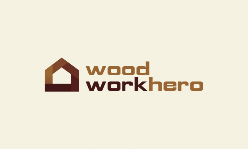 Woodworkhero - Friendly brand name for sale