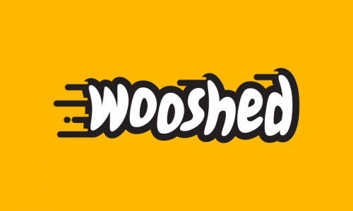 Wooshed - E-commerce business name for sale