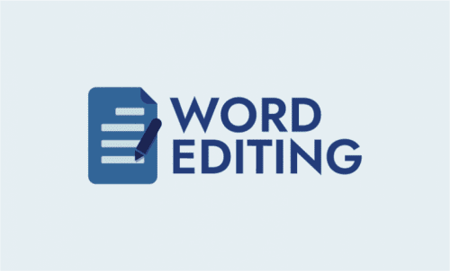 Wordediting - Writing company name for sale